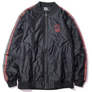 SPITFIRE / BIGHEAD BOMBER JACKET (BLACK/RED)
