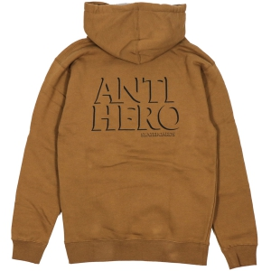 ANTIHERO / DROPHERO PULLOVER HOODIE (SADDLE)
