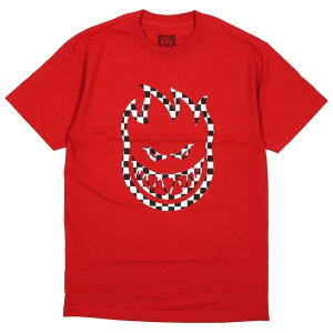 SPITFIRE / BIGHEAD CHECK TEE (RED)