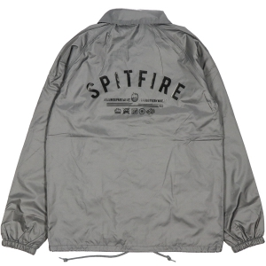 SPITFIRE / BURN DIVISION COACHES JACKET (GREY)
