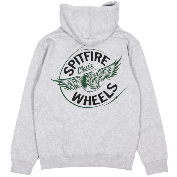 SPITFIRE / FLYING CLASSIC PULLOVER HOODIE (GREY HEATHER)
