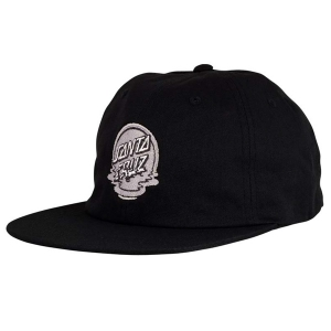 SANTA CRUZ / DOT REFLECTION SNAPBACK CAP (BLACK)