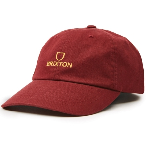 BRIXTON / ALPHA LP CAP (DARK BRICK)