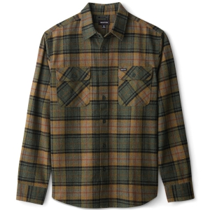 BRIXTON / BOWERY L/S FLANNEL SHIRT (EVERGREEN)