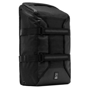 CHROME / BRIGADE BACKPACK (ALL BLACK)