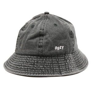 OBEY / DECADES BUCKET HAT (BLACK)