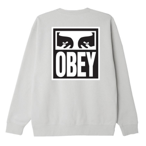 OBEY / OBEY EYES ICON 2 CREWNECK SWEAT (ASH GREY)