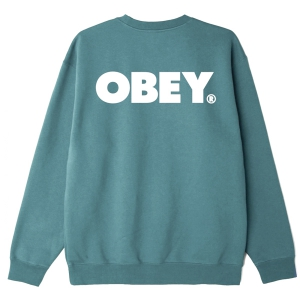 OBEY / OBEY BOLD CREWNECK SWEAT (MALLARD GREEN)