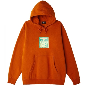 OBEY / STACK PULLOVER HOODIE (PUMPKIN SPICE)
