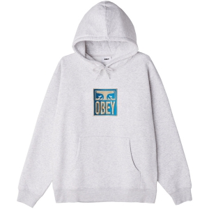 OBEY / STACK PULLOVER HOODIE (ASH GREY)