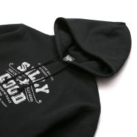 SILLY GOOD / SG x CR COLLABORATION PULL PARKA (BLACK)
