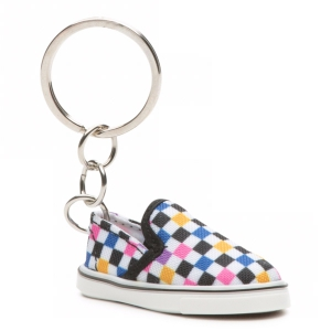 VANS / SLIP-ON KEYCHAIN (MULTI CHECK)