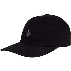 INDEPENDENT / GSD CROSS STRAPBACK CAP (BLACK/BLACK/GREY)