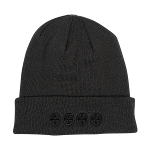 INDEPENDENT / CHAIN CROSS BEANIE (GREY)