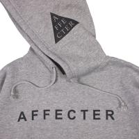 AFFECTER / CLASSIC LOGO HOODIE (H.GREY)
