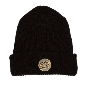 SANTA CRUZ / MISSING DOT BEANIE (BLACK)