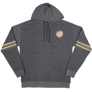 SANTA CRUZ / MISSING STRIPED PULLOVER HOODIE (CHARCOAL)