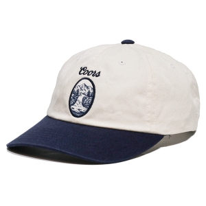 BRIXTON X COORS / FILTERED II LP CAP (OFF WHITE/NAVY)