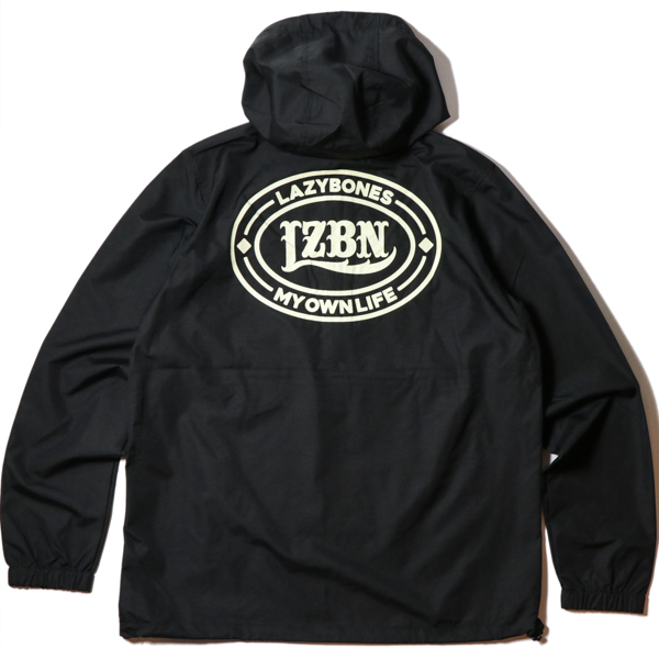 LZBN / OVAL ANORAK JACKET (BLACK)