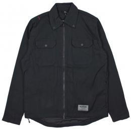 CHROME / IKE WINDSHIRT CANVAS (BLACK)