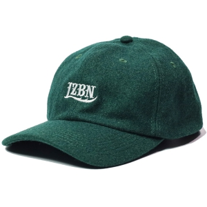 LZBN / LOGO EMB WOOL CAP (FOREST GREEN)