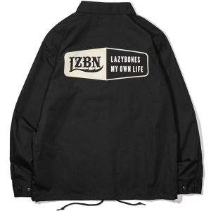 LZBN / HEXAGON COACH JACKET (BLACK)