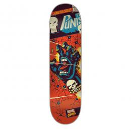 SANTA CRUZ × MARVEL / PUNISHER HAND DECK
