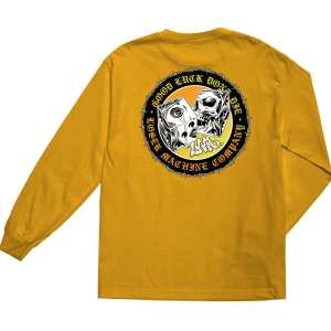 LOSER MACHINE / SNAKE EYES L/S TEE (GOLD)