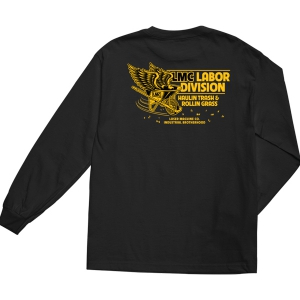 LOSER MACHINE / HAULER L/S TEE (BLACK)