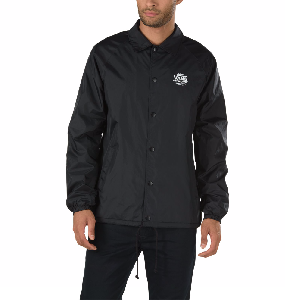 VANS / TORREY COACHES JACKET (BLACK/WHITE)