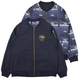 LZBN / SOUNDER REVERSIBLE JACKET (NAVY)