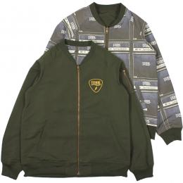 LZBN / SOUNDER REVERSIBLE JACKET (OLIVE)