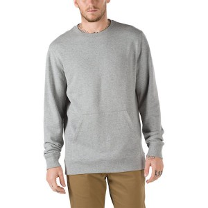 VANS / FAIRMOUNT CREW SWEATSHIRT (CEMENT HEATHER)