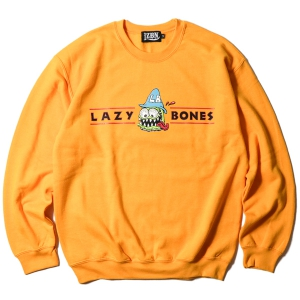 LZBN / LB HAT CREWNECK SWEAT (GOLD)