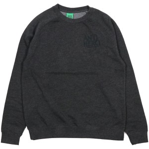 ANTIHERO / LIL BLACKHERO  CREWNECK SWEAT (CHARCOAL HEATHER)