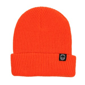 SPIT FIRE / BIGHEAD CLIP LABEL CUFF BEANIE (ORANGE)
