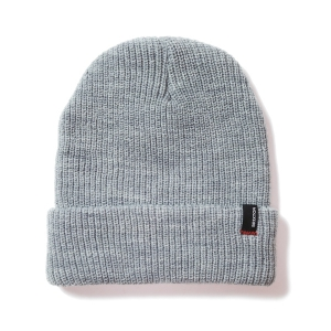 BRIXTON / HEIST BEANIE (LIGHT HEATHER GREY)