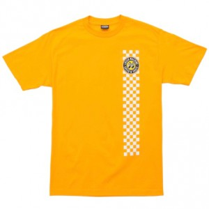 LOSER MACHINE / LMC X MOONEYES HOLESHOT TEE (GOLD)