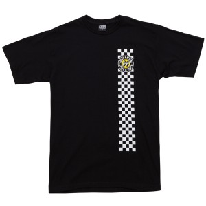 LOSER MACHINE / LMC X MOONEYES HOLESHOT TEE (BLACK)