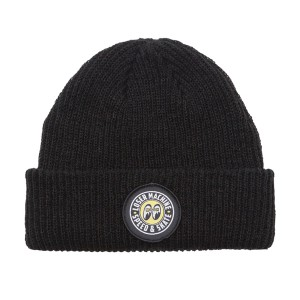 LOSER MACHINE / LMC X MOONEYES BEANIE (BLACK)