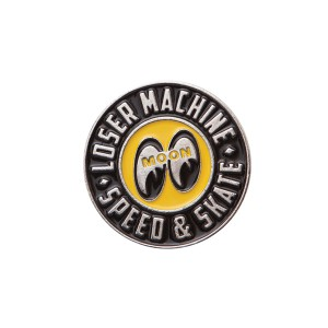 LOSER MACHINE / LMC X MOONEYES PIN (ALLOY)