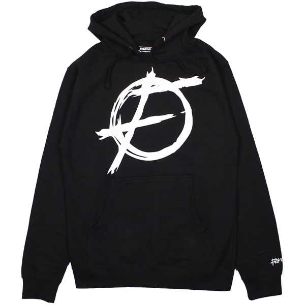 FAMOUS STARS AND STRAPS / CHAOS PULLOVER HOODIE (BLACK)