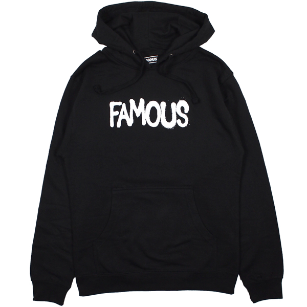 FAMOUS STARS AND STRAPS / DEMAND THE IMPOSSIBLE PULLOVER HOODIE (BLACK)