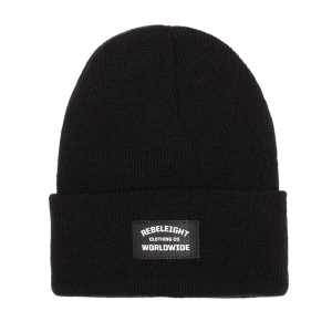 REBEL8 / WORLDWIDE BEANIE (BLACK)