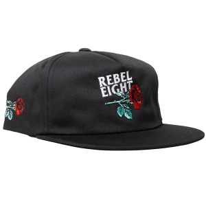 REBEL8 / EXERTION LP SNAPBACK CAP (BLACK)