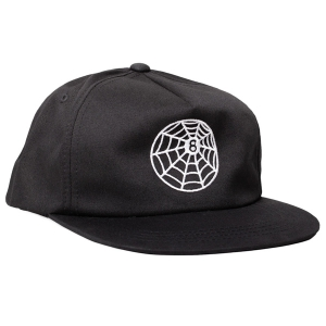 REBEL8 / EXTERNO LP SNAPBACK CAP (BLACK)
