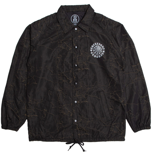 REBEL8 / EXTERNO CRACKLE COACHES JACKET (BLACK)