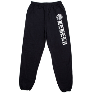 REBEL8 / EXTERNO SWEATPANT (BLACK)