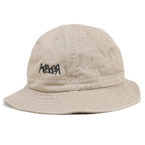 AFFECTER / CROSS BUCKET HAT (KHAKI)