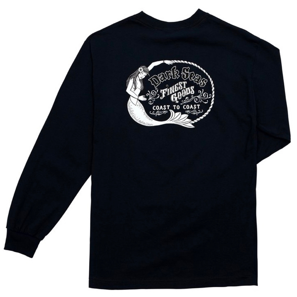 DARK SEAS / FAR EAST L/S TEE (NAVY)